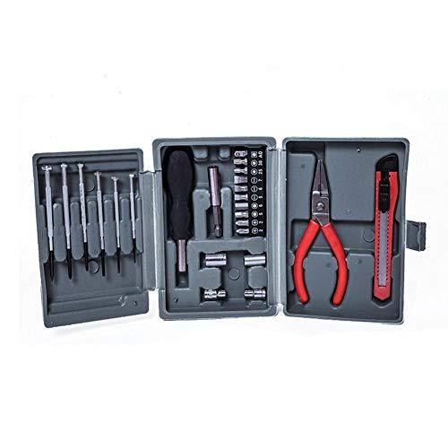 24-teiliges Multifunktions-Werkzeugkasten, Hifi Reparatur-Werkzeug-Set, Heimwerker-Set, Heimwerker-Reparatur-Werkzeuge, Mehrzweck-Werkzeug-Set, Werkzeug-Set, Box mit quadratischem