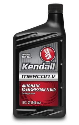 Kendall (1043807-12PK) MERCON V Automatic Transmission Fluid - 1 Quart, (Case of 12)