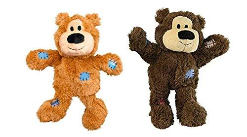 KONG Wild Knots - Bear - Assorted Medium/Large - 20' Long - Pack of 2