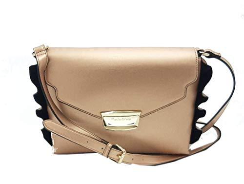 MANILA GRACE borsa tracolla Daisy medium bronzo B203EU