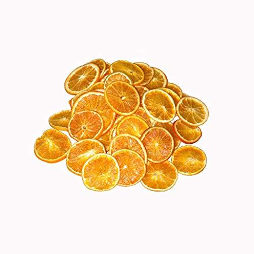 Deko Orangenscheiben getrocknet - Fruchtscheiben - Weihnachtsdekoration - JUMBOPACKUNG - 1000 g/ca. 325 Stück - 20005