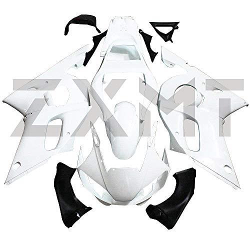 ZXMT Motorcycle Fairing Kit Unpainted Fairings for YAMAHA YZF R6 1998-2002 1999 2000 2001