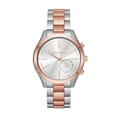 Michael Kors dames analoog kwarts horloge met roestvrij stalen armband MKT4018