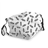 Sciarpa senza giunte della testa del modello del grano per gli uomini delle donne anti bandane della polvere per gli sport all'aria aperta