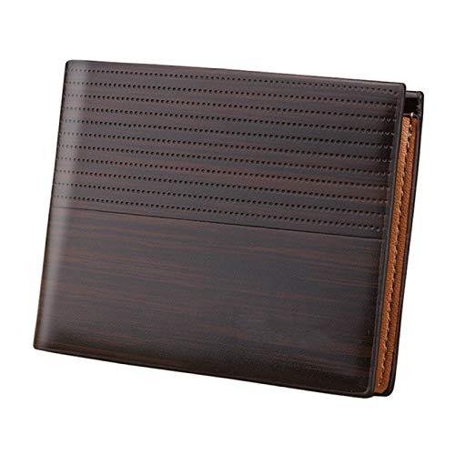 Walletvintage herr Pu-plånbok Kort herrplånbok Kreditkorthållare