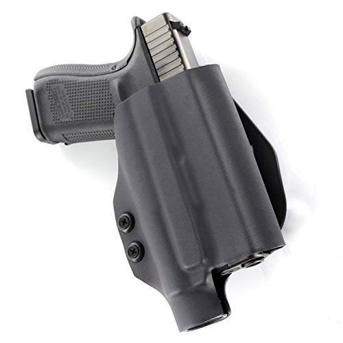 OWB TLR-1 Kydex Paddle Holster - Black (Right-Hand, Fits Glock 19/23/32)