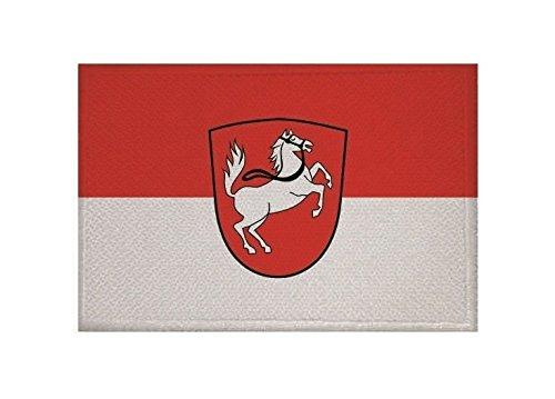 U24 Aufnäher Oberstdorf Fahne Flagge Aufbügler Patch 9 x 6 cm