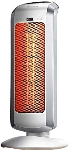 Heizlüfter - Keramikheizlüfter, Thermostat mit 3 Drehzahlreglern, schaltbarer Heizlüfter mit Säule