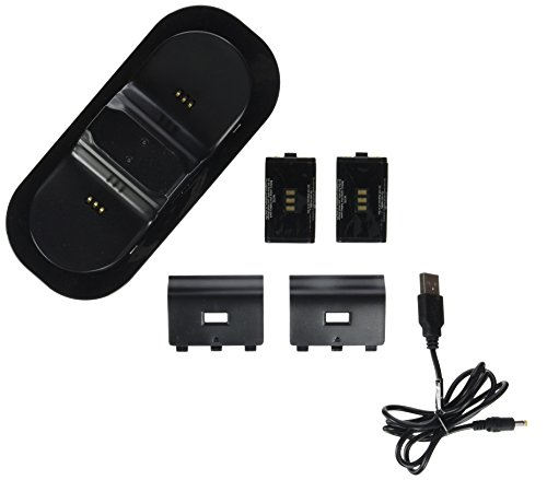 Speedlink TWINDOCK USB Charging System - Ladestation für Xbox One Controller, für zwei Gamepads gleichzeitig, für Gaming/Konsole, schwarz