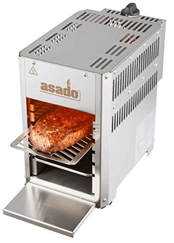 Oberhitze Gasgrill Asado 800° Compact für Beef Pizza