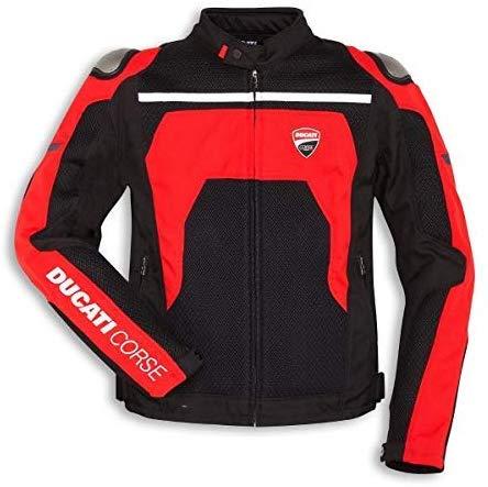 Ducati Corse Tex Summer C2 Stoffjacke Textiljacke schwarz/rot Größe 50