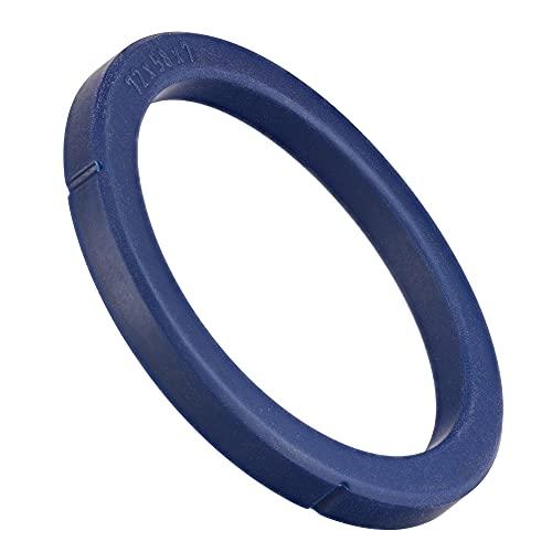 Uszczelka SW-K O-ring uszczelka z sitkiem kompatybilna jako zamiennik ekspresów do kawy NUOVA SIMONELLI APPIA ekspresów do kawy, zestaw do parzenia (niebieski) Ø 72 x 58 x 7 mm