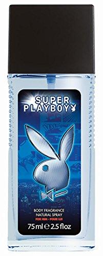 Playboy Super Men Deodorant spray 75 ml, 2-pack (2 x 75 ml)