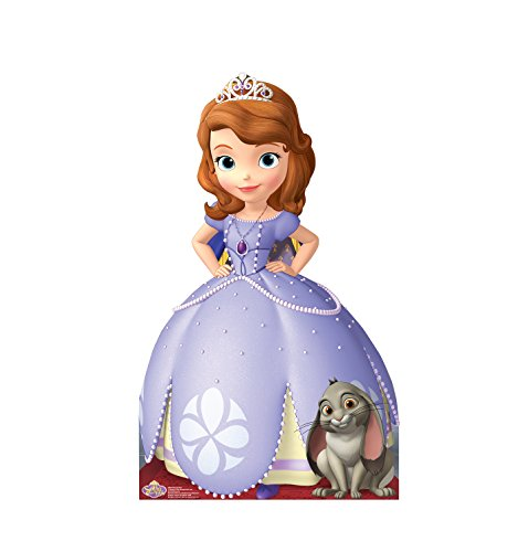 Advanced Graphics Sofia The First Life Size Cardboard Cutout Standup - Disney Junior's Sofia The First