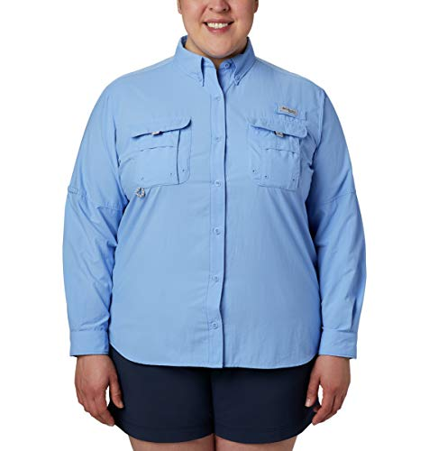 Columbia Women's PFG Bahama Ii Long Sleeve Shirt, Breathable with Uv Protection
