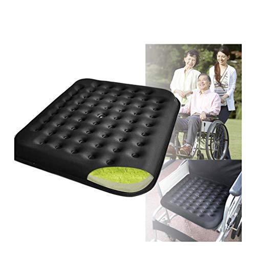 HRRH Orthopädische Gelkissen Speicher, Rollstuhl Anti-Dekubitus Kissen Orthopädische Gel Verbessert Komfort-Schaumstoff-Sitzkissen, Orthopädische Sitzkissen