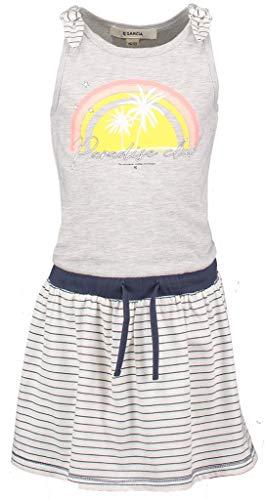 Garcia Kids Mädchen P04481 Kleid, Mehrfarbig (Milk Melee 1464), (Herstellergröße: 104/110)