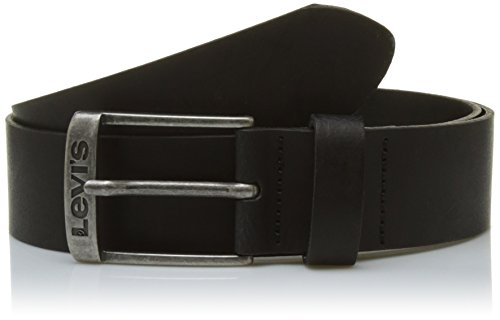 LEVIS FOOTWEAR AND ACCESSORIES New Duncan Cintura, Nero (Black), 110 Uomo