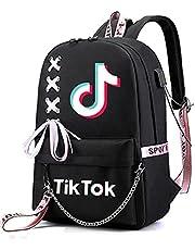 Kixnor Mochila Tik -Tok, Mochila para Portátil de Viaje para Actividades al Aire Libre Mochila Informal