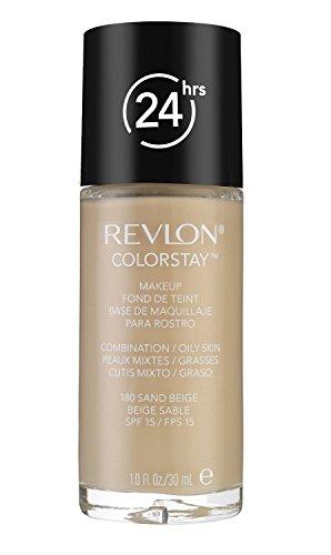 Revlon Colorstay Make Up - combination/Oily Skin 180 Sand Beige (2-Pack)