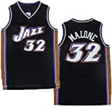 XSJY Jersey De Mujeres para Hombres - Jazz De La NBA 12# Karl Malone Jerseys Transpirable Baloncesto Baloncesto Swingman Jersey,L:175~180cm/75~85kg