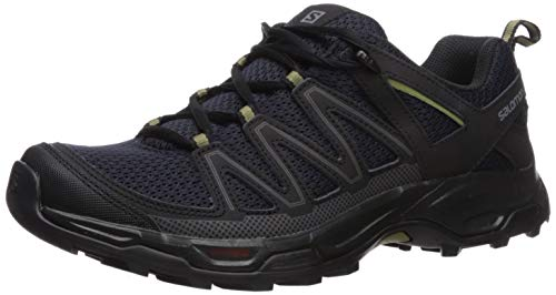 Salomon Men's Pathfinder Hiking Shoes, Night Sky/Black, 13 D US