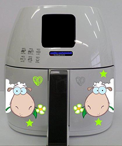 Stickers geschikt voor Philips Airfryer XL Schaap
