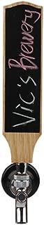 Chalkboard Beer Tap Handles Display For Kegerator or Bar,Home Brew,Vintage Oak Wood Tap Handles 8