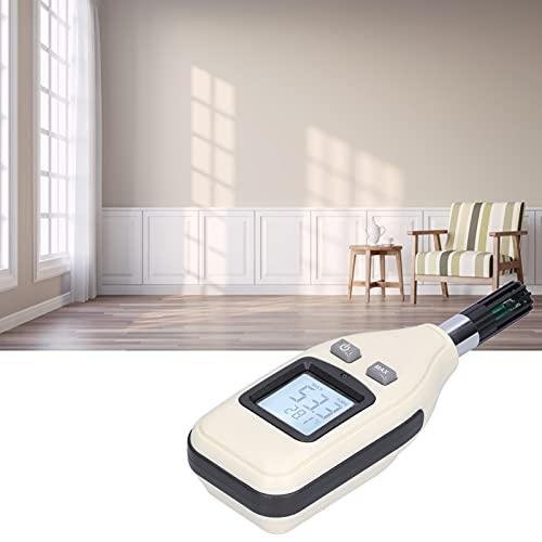 Eulbevoli Higrómetro, medidor de Temperatura y Humedad de Alta precisión para Temperatura Interior y Exterior