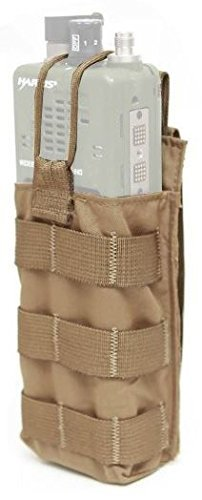 LBX TACTICAL Radio Pouch Coyote Brown