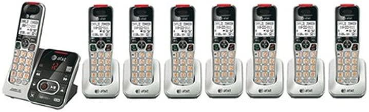 AT&T CRL32102 Cordless Phone and 7 CRL30102 Handsets