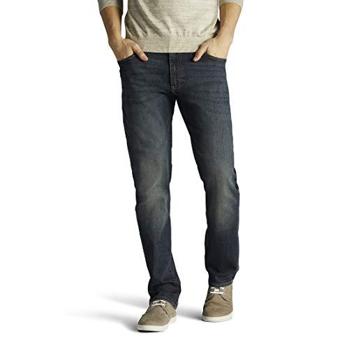 Lee Men's Big & Tall Performance Series Extreme Motion Straight Fit Tapered Leg Jean, Maverick, 46W x 30L