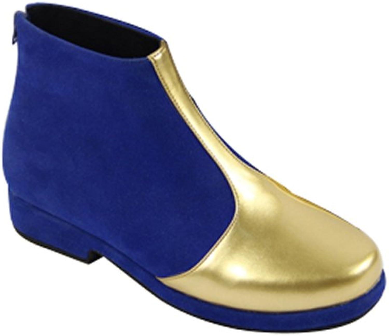 Mtxc Men's Code Geass Cosplay Lelouch Lampered Zero shoes golden