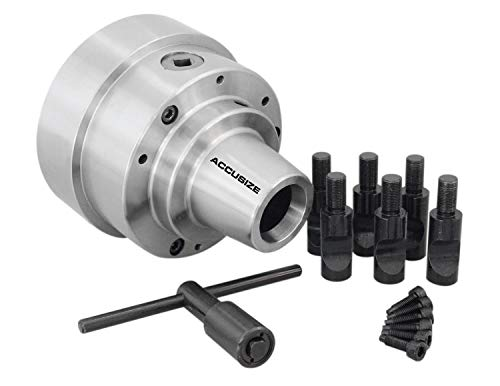 Best Prices! Accusize Industrial Tools 5C 5'' Collet Chuck with Integral D1-5 Camlock Mounting, 3/4'...