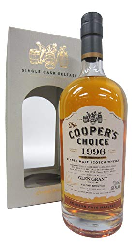 Photo of Glen Grant – Coopers Choice Single Cask #67814-1996 20 year old Whisky