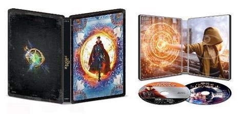 Doctor Strange 2016 4K Limited Edition Steelbook (4K Ultra HD/Blu-ray/Digital)