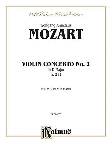 Violin Concerto No. 2, K. 211 (Kalmus Edition)