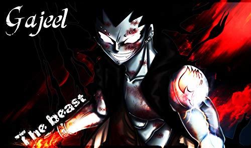 Fairy Tail Gajeel Reitfox 59cm x 35cm 24inch x 14inch Waterproof Poster *Anti-Fading* 3WP/853266643