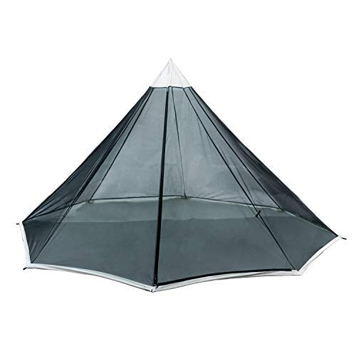 OneTigris HOWLINGTOP Ultralight Mesh Teepee for Smokey Hut Hot Tent, Weighs 2.2Ib