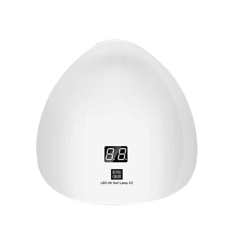 有効化バラエティ提供するRadiya UVライト ネイルドライヤー 45W LED 30s高速硬化 自動センサー機能 高速硬化ジェルネイルライト赤外線検知 GLJSUN-C2