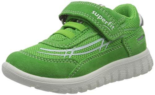 Superfit Jungen SPORT7 Mini Sneaker, Grün (Grün 70), 27 EU