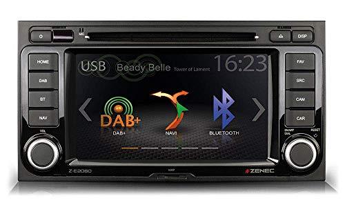 ZENEC Z-E2060 NAVICEIVER Bluetooth für VW T5 DAB+ CD DVD USB & NAVI Karte