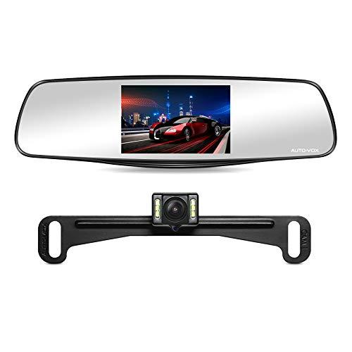 "AUTO-VOX M3 Mirror Dash Cam 5"" LCD Screen Full..."