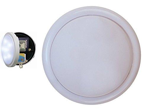 Secret Closet Storage Lamp - Bonus Organizing Your Spaces Guide - Store Valuables, Money, Jewelry, Passport - Hidden Safe