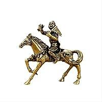 純銅はすぐにホウの装飾品をすぐに封印しますモンキーモンキーモンキーホースビマウェン装飾品工芸品ギフト