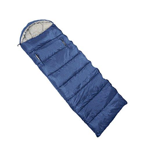 Sharplace Sac De Couchage pour Adulte Accessoire Camping et Randonnée Enveloppe Étanche à l'eau - Marine, 210 x 75 cm
