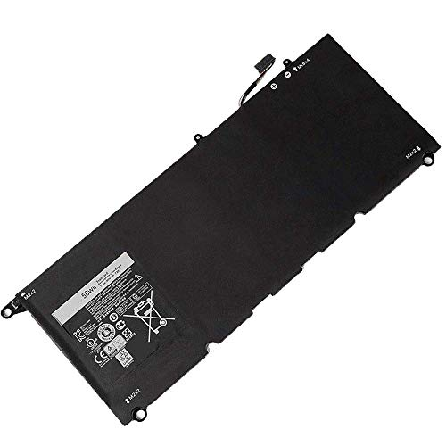 Backupower Replacement 90V7W Laptop Battery for Dell XPS 13 9343 9350 Ultrabook P54G P54G001 P54G002 13D 9343 13D-9343-1808T 13D-9343-350 13D-9343-3708 13-9350-D1708 13-9350-D1608 5K9CP DIN02