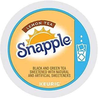 SNAPPLE LEMON ICED TEA 44 K CUP PACKS