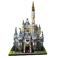 建築ビルディングブロックモデル 大きなおもちゃのブロック小さな粒子ビルディングブロック教育用おもちゃ部屋の装飾と誕生日プレゼントのための大人のジグソーパズル(4700以上のピース)(Color:D)