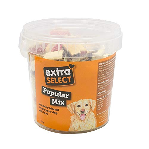 Extra Select Popular Mix Dog Treat Biscuits, 1 Litre